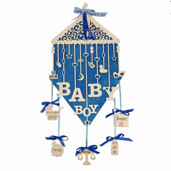 Αναμνηστικό Γέννησης Baby Boy