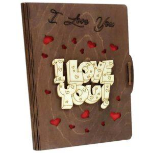 Δώρο Αγίου Βαλεντίνου Κάρτα Ευχών I Love You