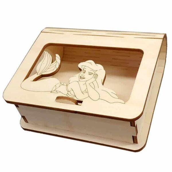 Ξύλινο Κουτί Μπομπονιέρας Ariel.