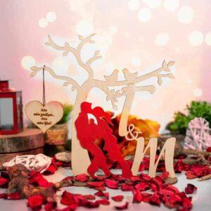 δώρο για ερωτευμένους ζευγάρι με καριδά