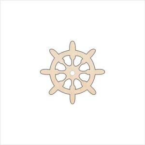 Ξύλινο Στοιχείο Τιμόνι Πλοίου