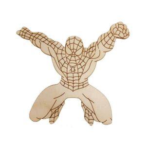 Ξύλινο Στοιχείο Spiderman