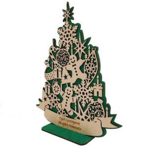 Χριστουγεννιάτικο Δέντρο Με Στολίδια