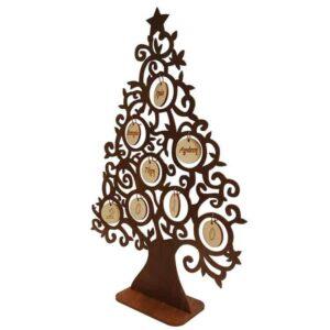 Χριστουγεννιάτικο Δέντρο Με Μπάλες