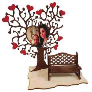 Δώρο Αγίου Βαλεντίνου Δέντρο Με Παγκάκι