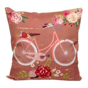 Μαξιλάρι Δίχρωμο Ποδήλατο