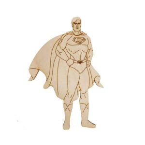 Ξύλινο Στοιχείο Superman