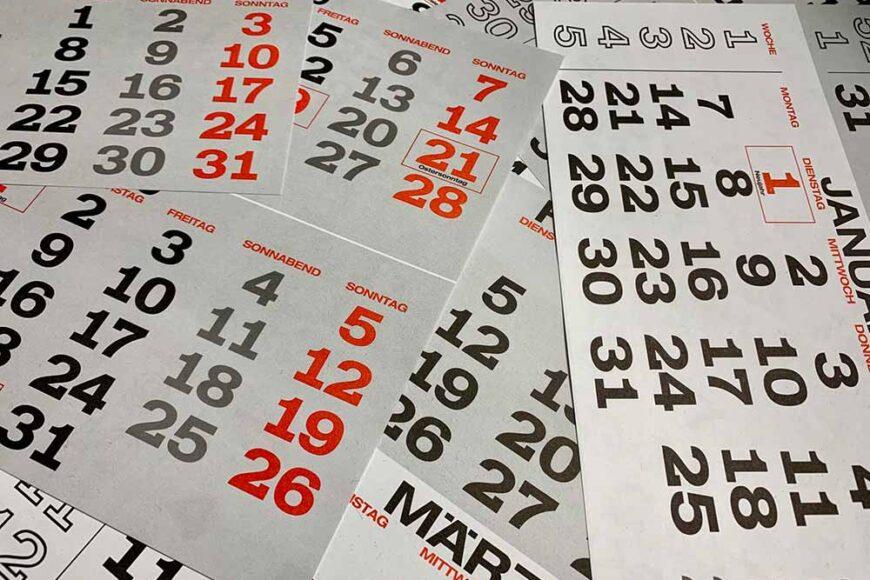 Ημερολόγια για Συλλόγους
