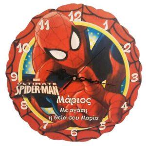 Ρολόι Τοίχου Spiderman