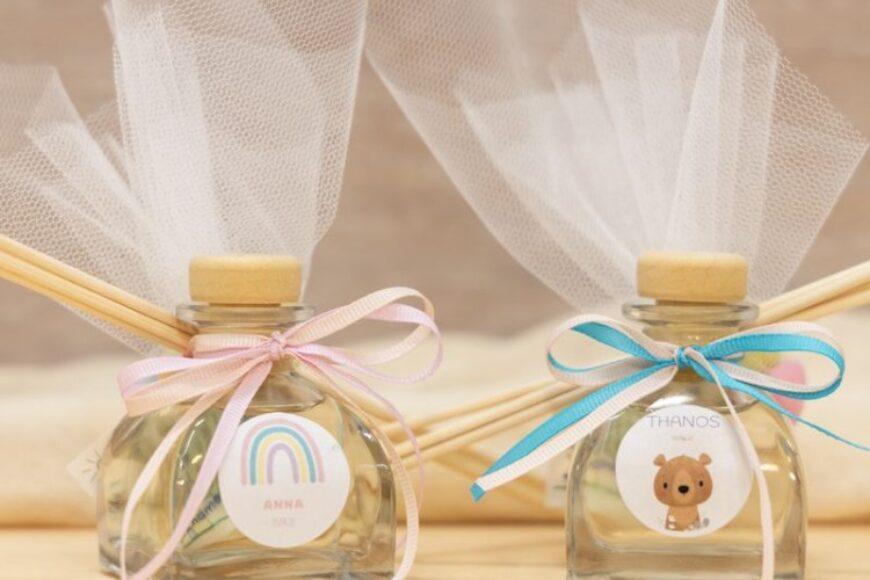 Πρωτότυπες μπομπονιέρες βάπτισης για αγόρι και κορίτσι